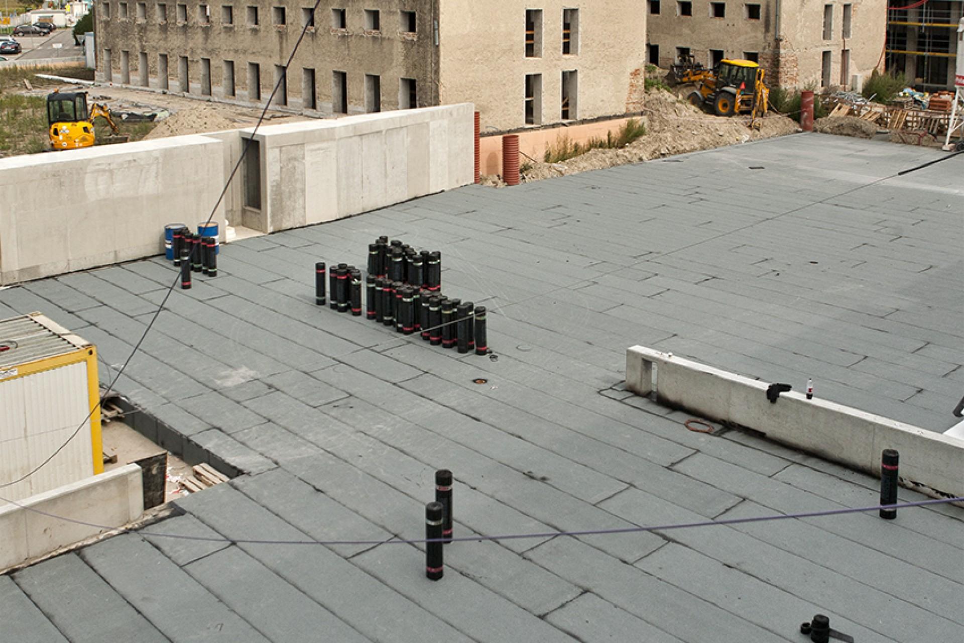 Výstavba - september 2020