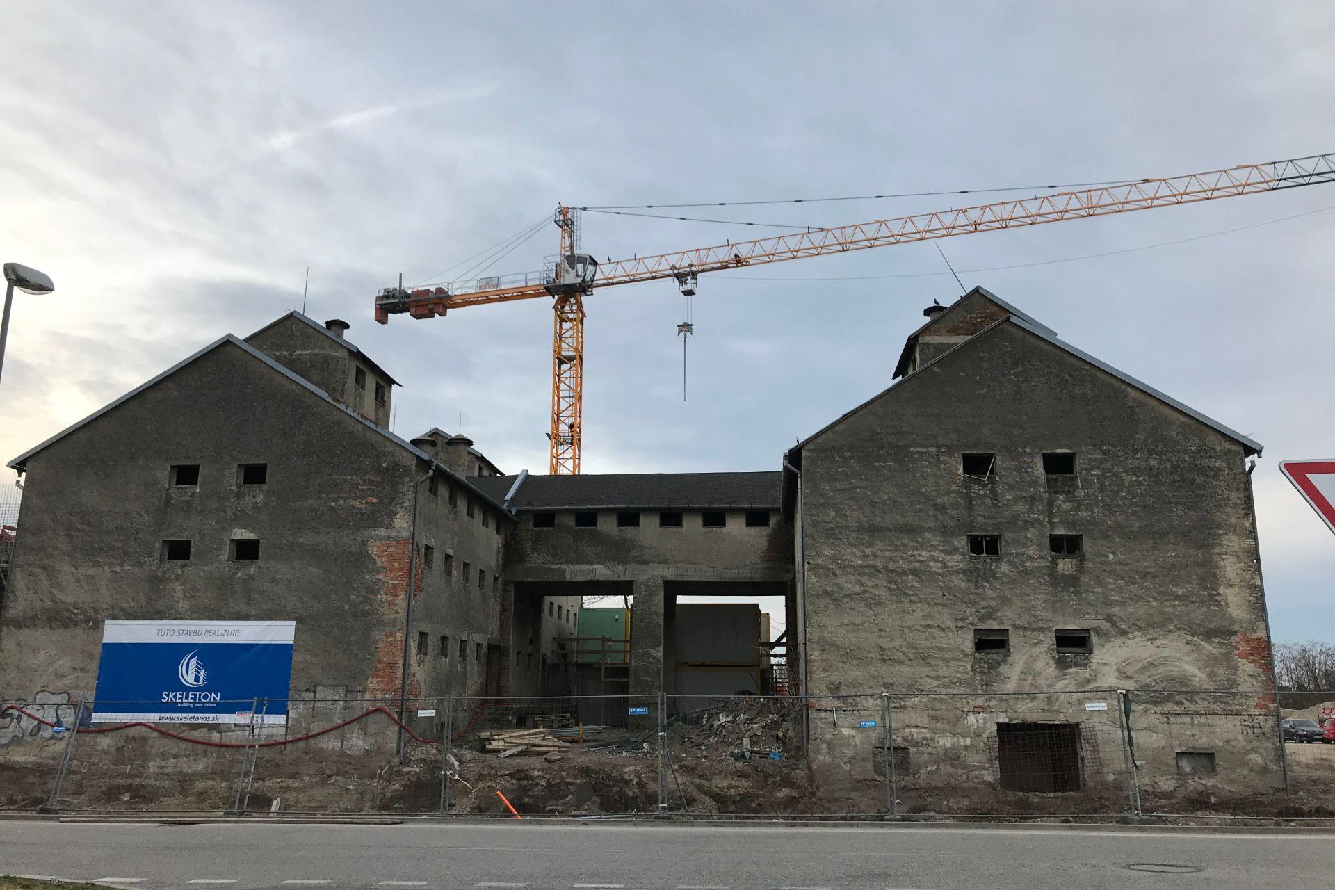 Výstavba - marec 2019