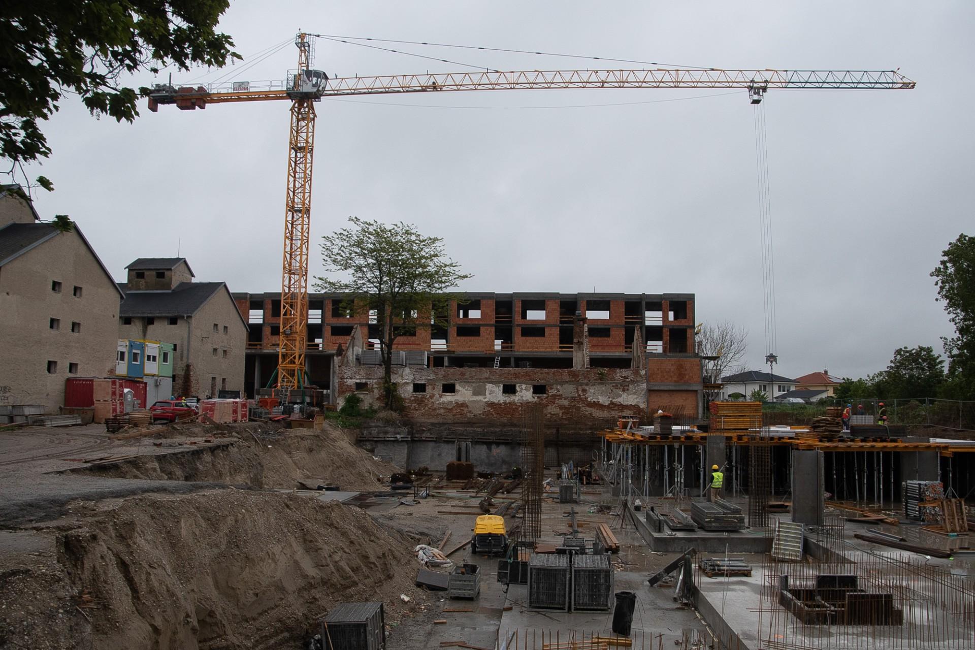 Výstavba - máj 2019