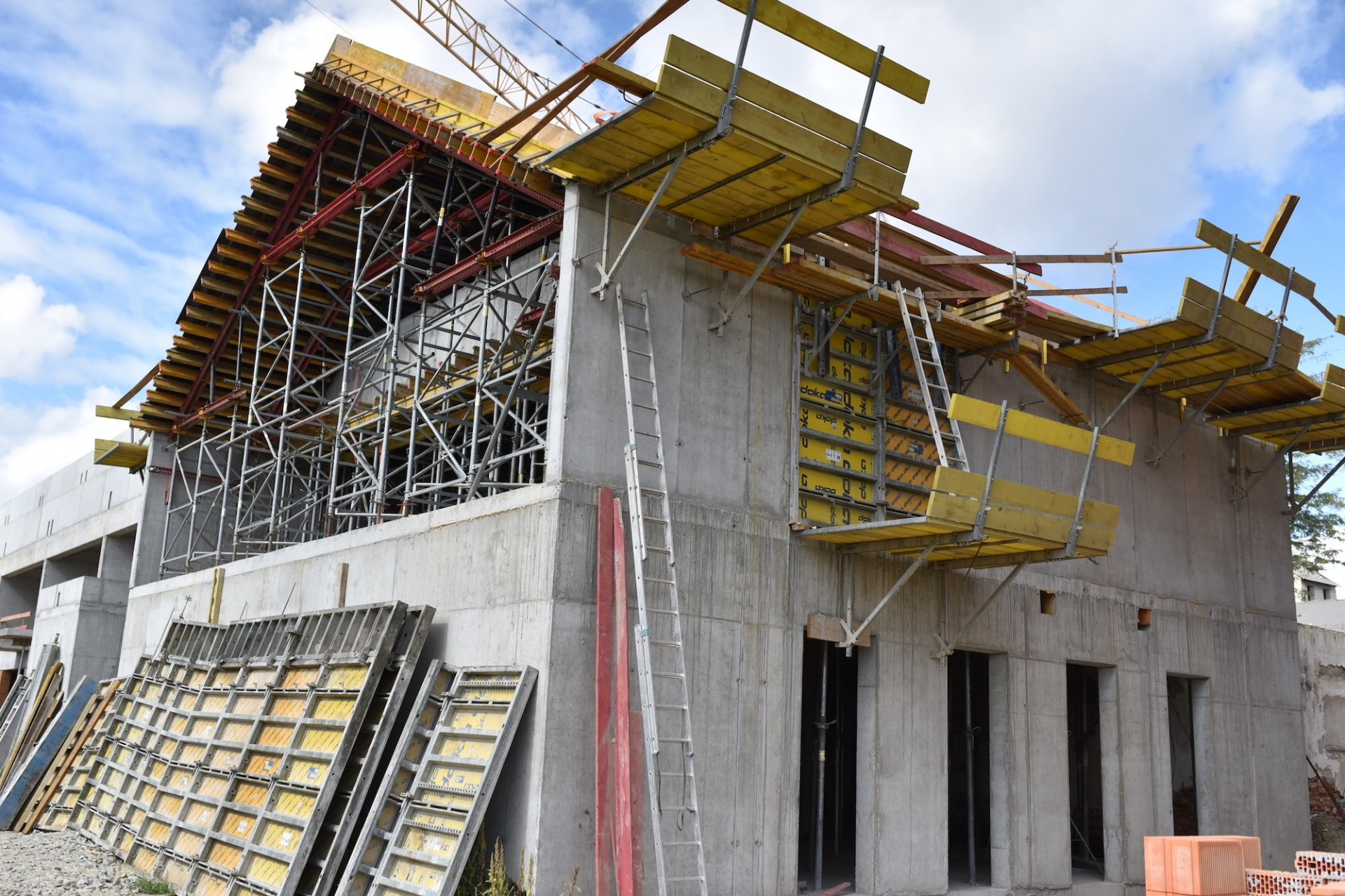 Výstavba - september 2019