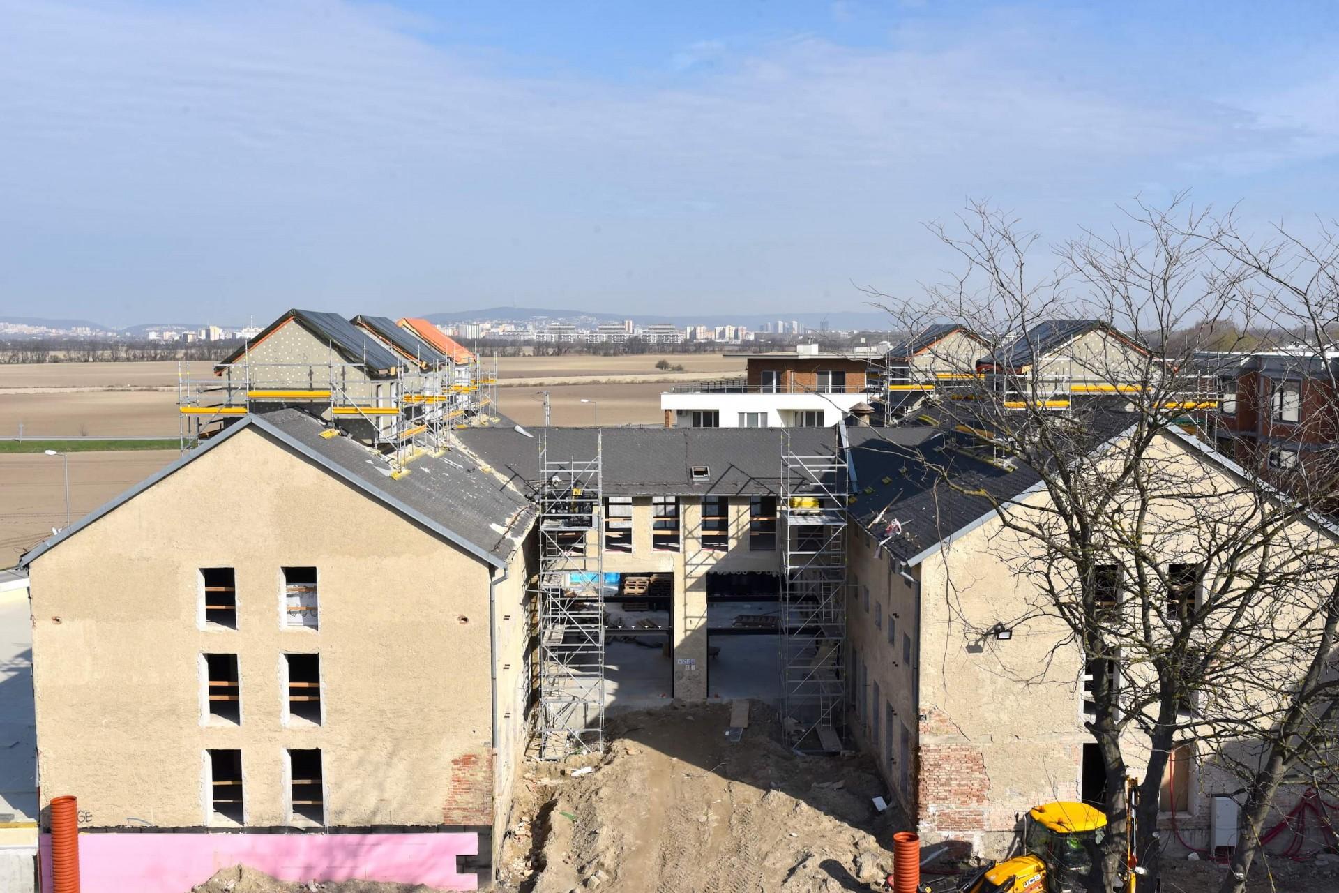 Výstavba - marec 2020